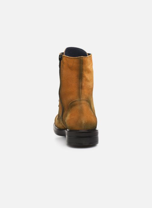 Bottines et boots Dorking Matrix 7668 Jaune vue droite