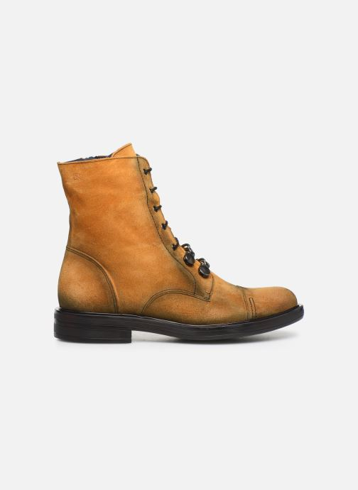 Bottines et boots Dorking Matrix 7668 Jaune vue derrière