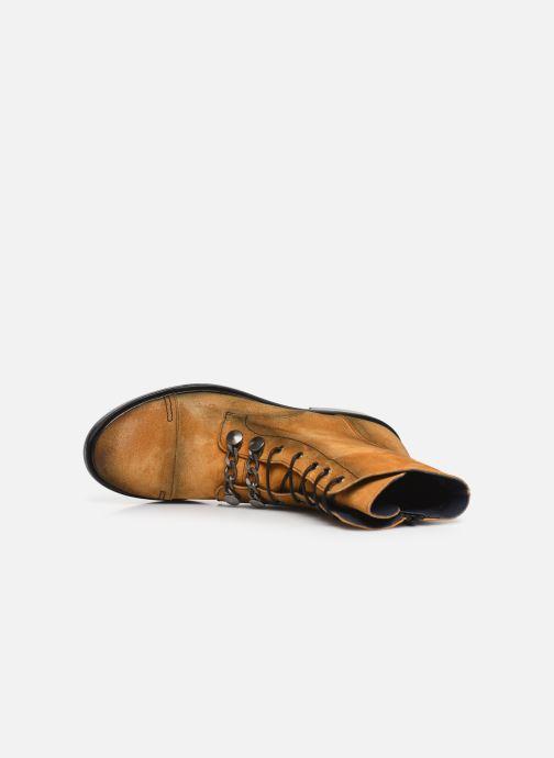 Bottines et boots Dorking Matrix 7668 Jaune vue gauche