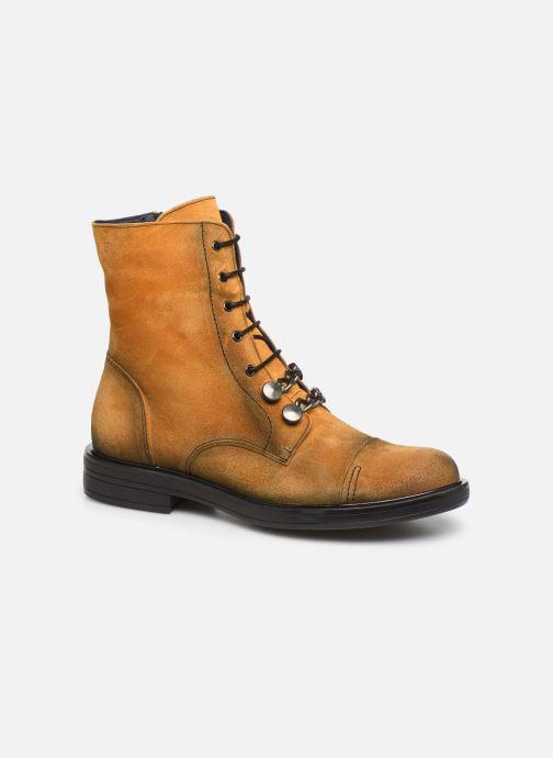 Bottines et boots Dorking Matrix 7668 Jaune vue détail/paire