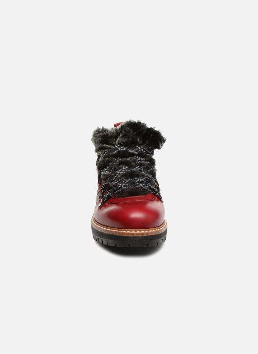 Chaussures à lacets Dorking Charco 7705 Rouge vue portées chaussures
