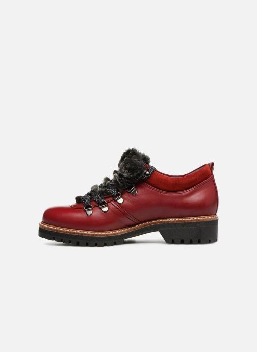 Chaussures à lacets Dorking Charco 7705 Rouge vue face