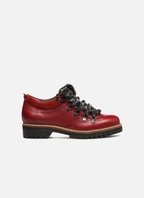 Chaussures à lacets Dorking Charco 7705 Rouge vue derrière