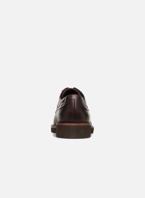 Zapatos con cordones Fluchos Cavalier F0045 Marrón vista lateral derecha