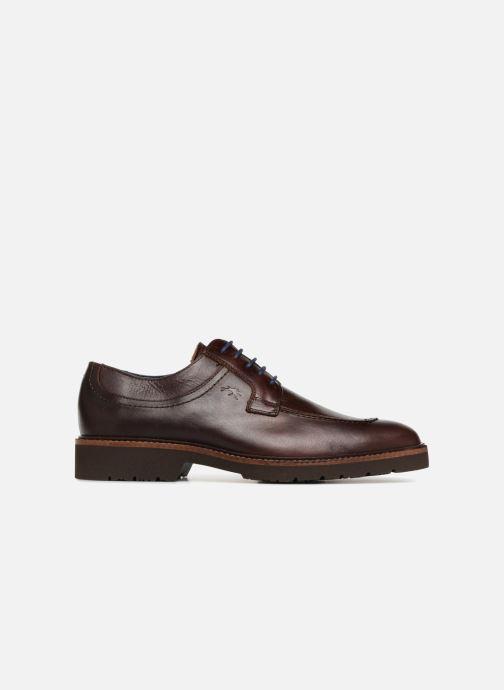 Zapatos con cordones Fluchos Cavalier F0045 Marrón vistra trasera