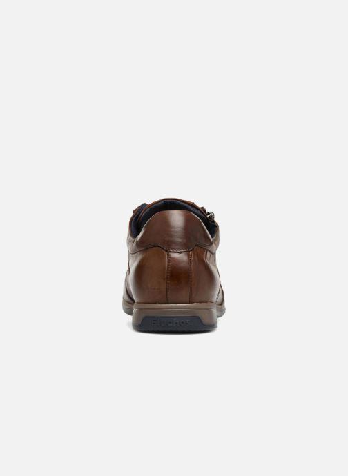 Sneakers Fluchos Daniel F0210 Marrone immagine destra