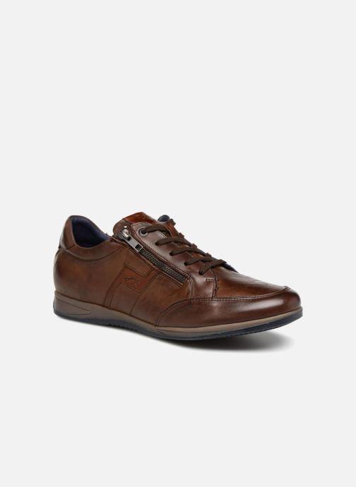 Sneakers Fluchos Daniel F0210 Brun detaljeret billede af skoene
