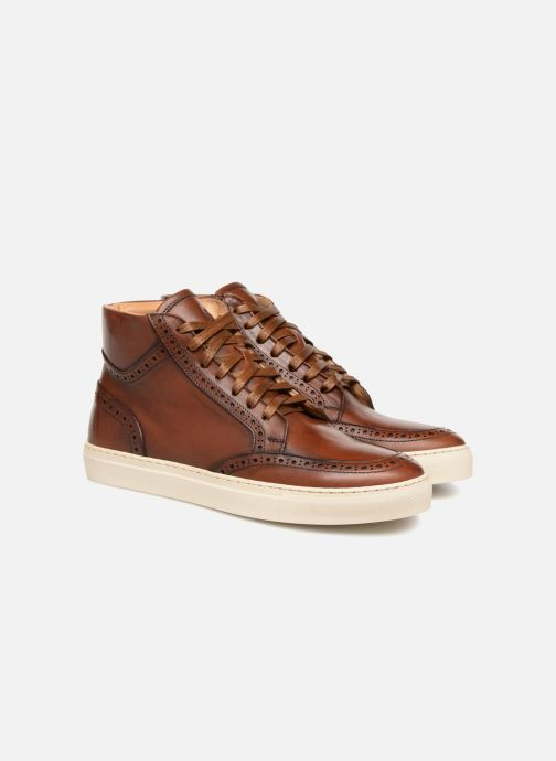 Sneakers Mr SARENZA Danael Bruin achterkant