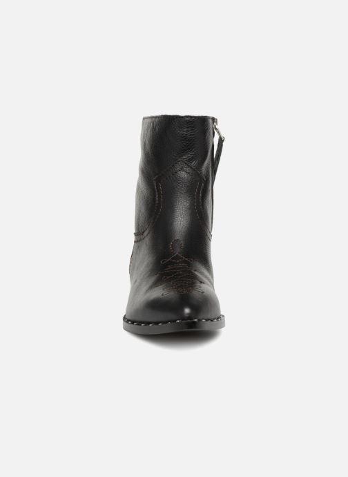Bottines et boots Sam Edelman Ava Noir vue portées chaussures
