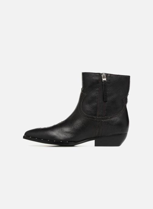 Bottines et boots Sam Edelman Ava Noir vue face