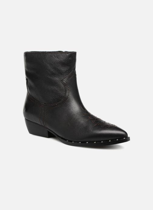 Bottines et boots Sam Edelman Ava Noir vue détail/paire