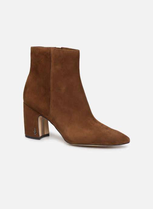 Bottines et boots Sam Edelman Hilty Marron vue détail/paire