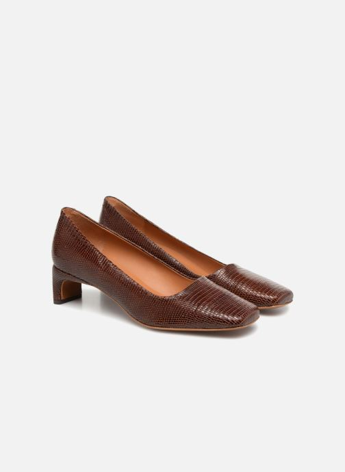 Zapatos de tacón BY FAR Agatha Marrón vista 3/4