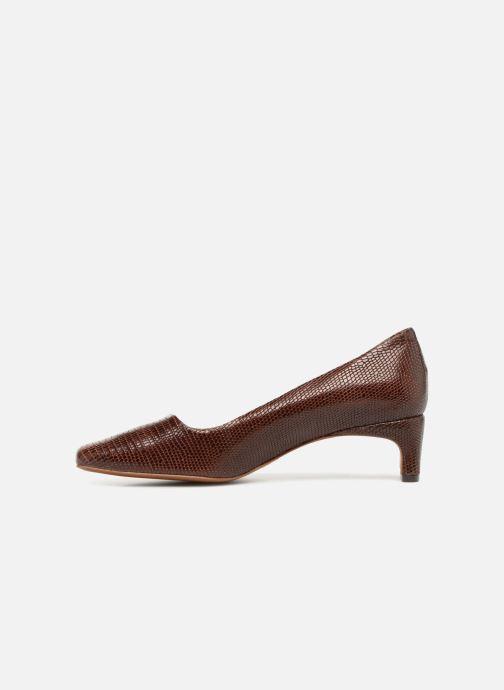 Zapatos de tacón BY FAR Agatha Marrón vista de frente