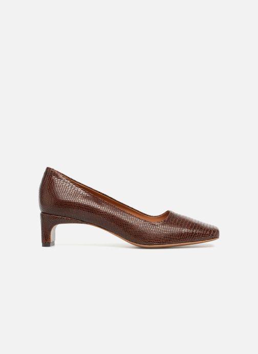 Zapatos de tacón BY FAR Agatha Marrón vistra trasera