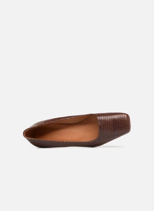 Zapatos de tacón BY FAR Agatha Marrón vista lateral izquierda