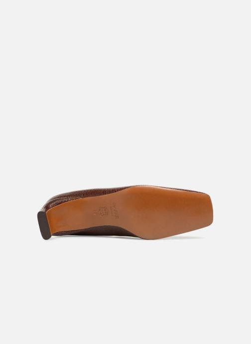 Zapatos de tacón BY FAR Agatha Marrón vista de arriba