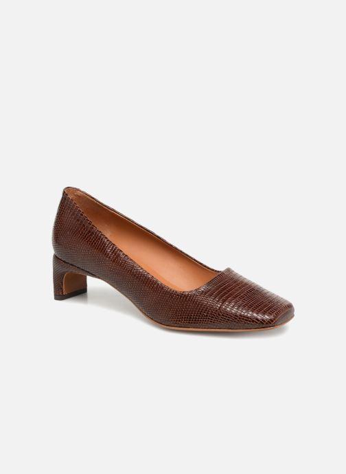 Zapatos de tacón BY FAR Agatha Marrón vista de detalle / par