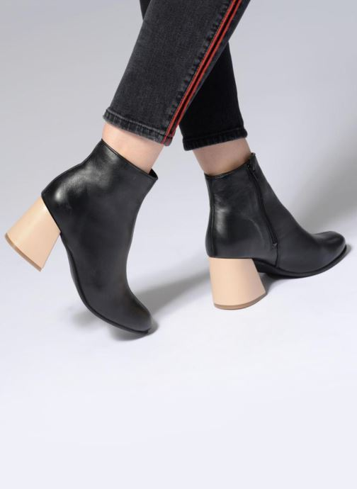 Bottines et boots Another Project Georgi Noir vue bas / vue portée sac