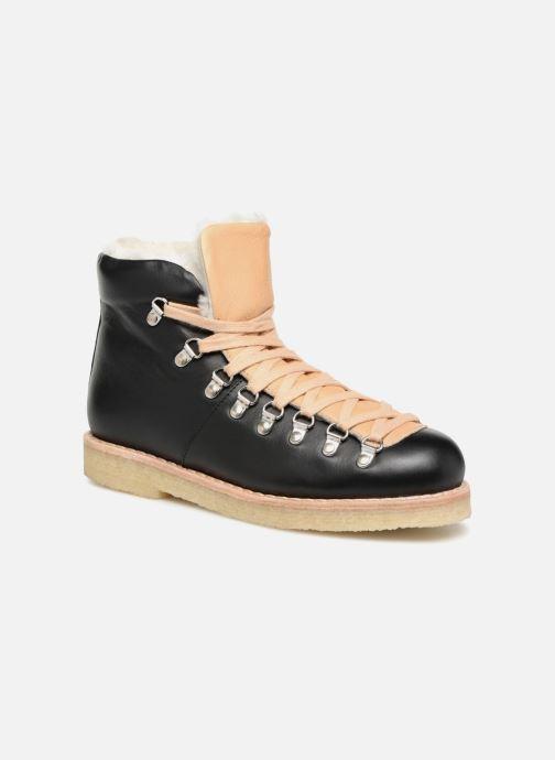 Boots en enkellaarsjes Another Project Billie Zwart detail