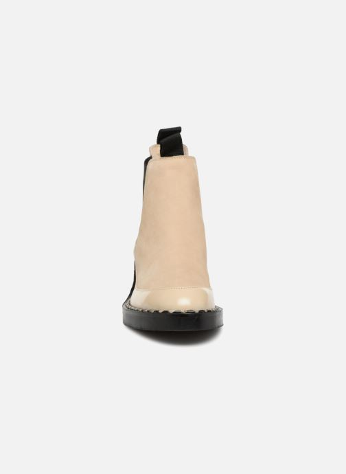 Stiefeletten & Boots Another Project Indie beige schuhe getragen