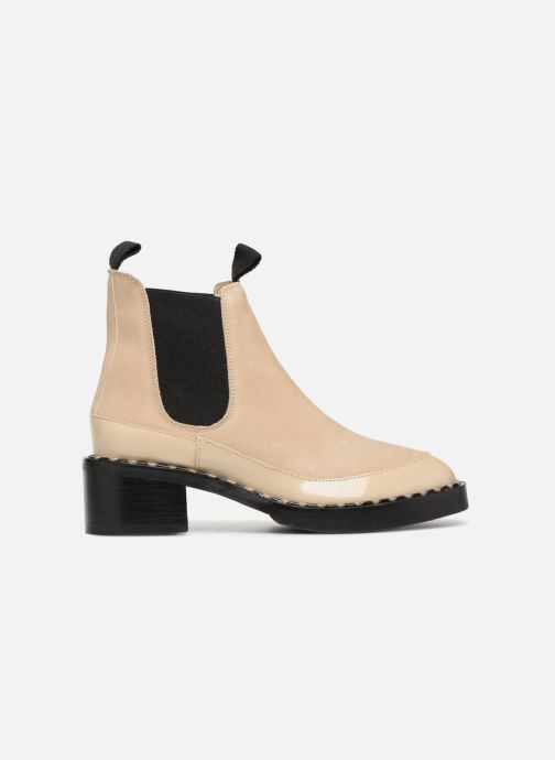 Botines  Another Project Indie Beige vistra trasera