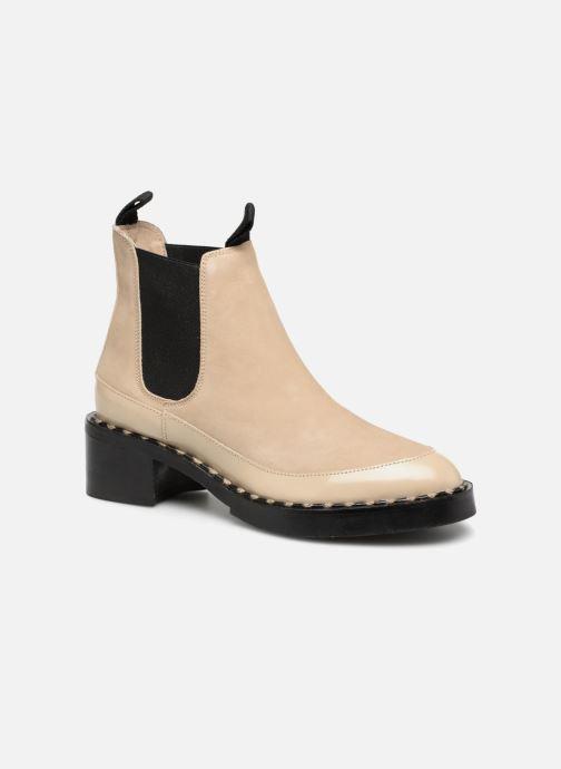 Bottines et boots Another Project Indie Beige vue détail/paire