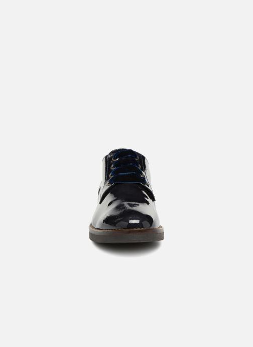 Chaussures à lacets Georgia Rose Gevelta Bleu vue portées chaussures