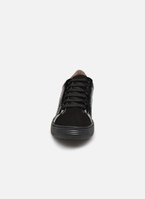 Baskets Georgia Rose Gloriana Noir vue portées chaussures