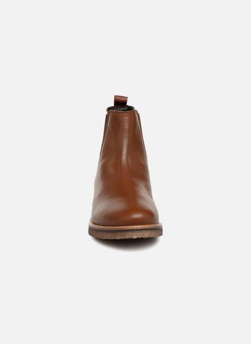 Bottines et boots Georgia Rose Acrepou Marron vue portées chaussures