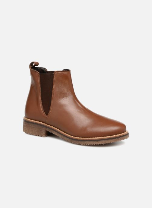 Bottines et boots Georgia Rose Acrepou Marron vue détail/paire