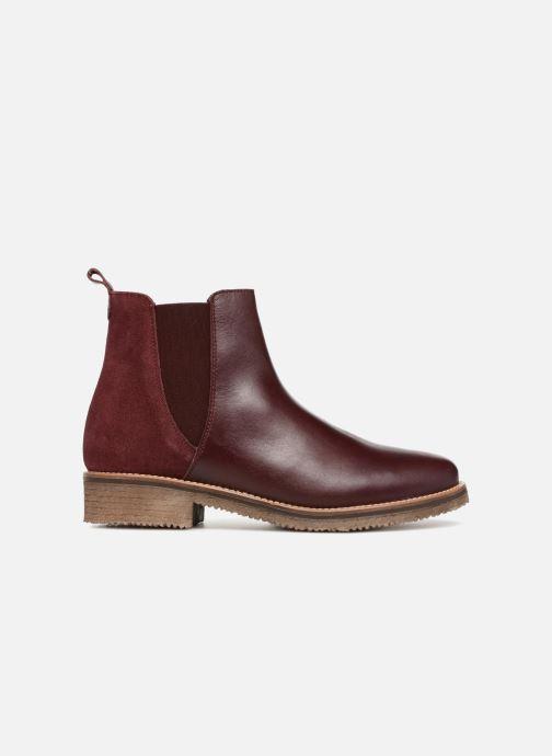Bottines et boots Georgia Rose Acrepou Bordeaux vue derrière