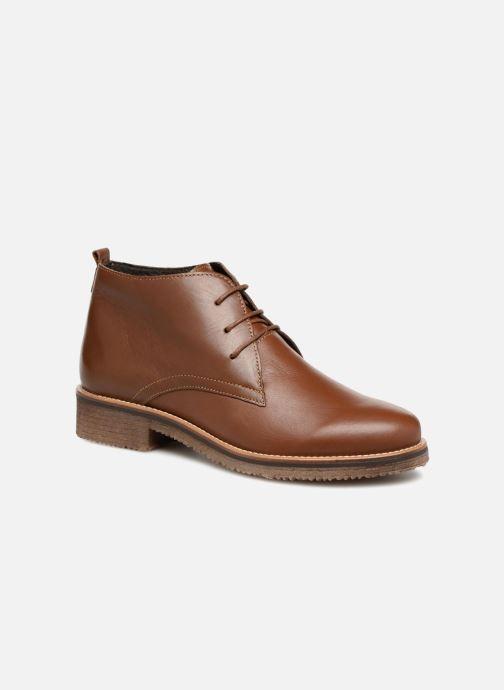 Bottines et boots Georgia Rose Awafle Marron vue détail/paire