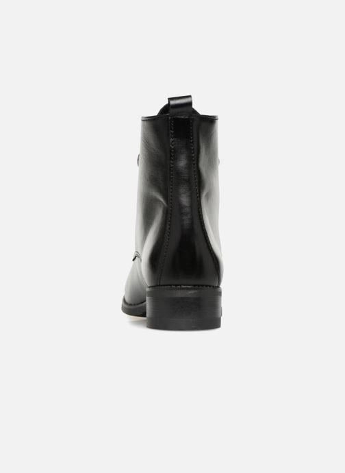 Bottines et boots Georgia Rose Anconia Noir vue droite