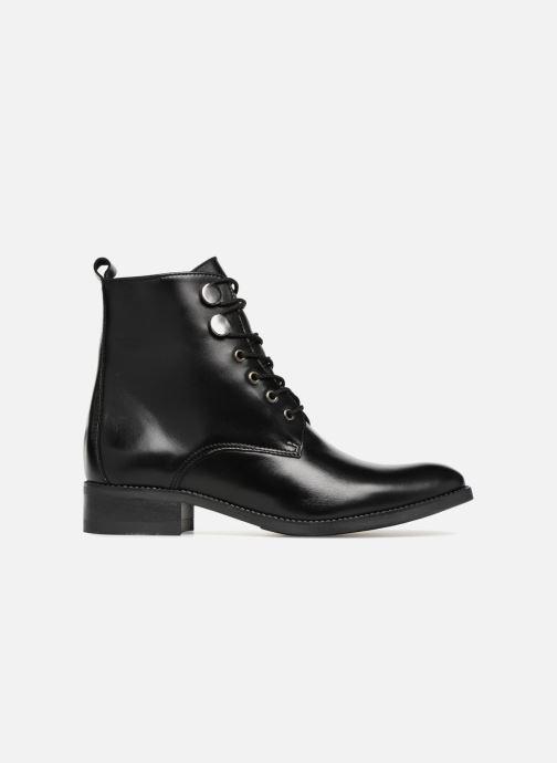 Bottines et boots Georgia Rose Anconia Noir vue derrière