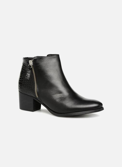 Boots en enkellaarsjes Georgia Rose Aligatora Zwart detail