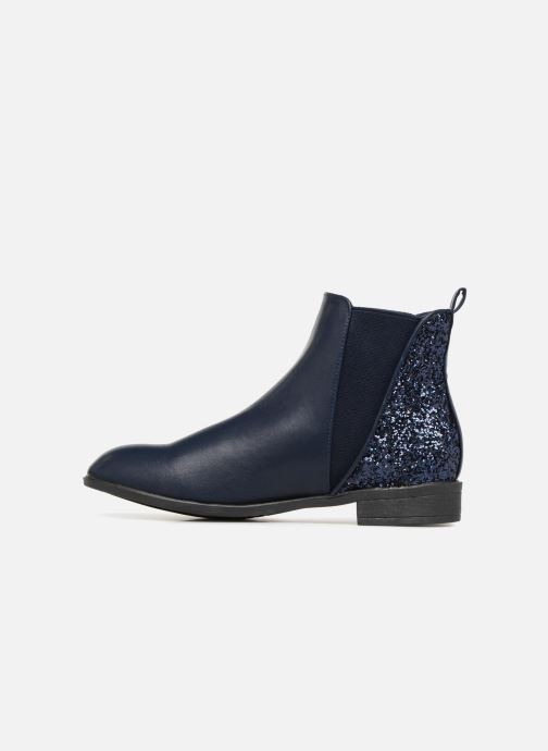 Ankle boots I Love Shoes CAMARA Blue front view