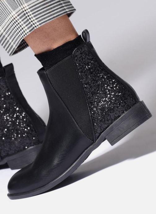 Stiefeletten & Boots I Love Shoes CAMARA schwarz ansicht von unten / tasche getragen