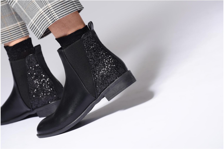 Bottines et boots I Love Shoes CAMARA Noir vue bas / vue portée sac