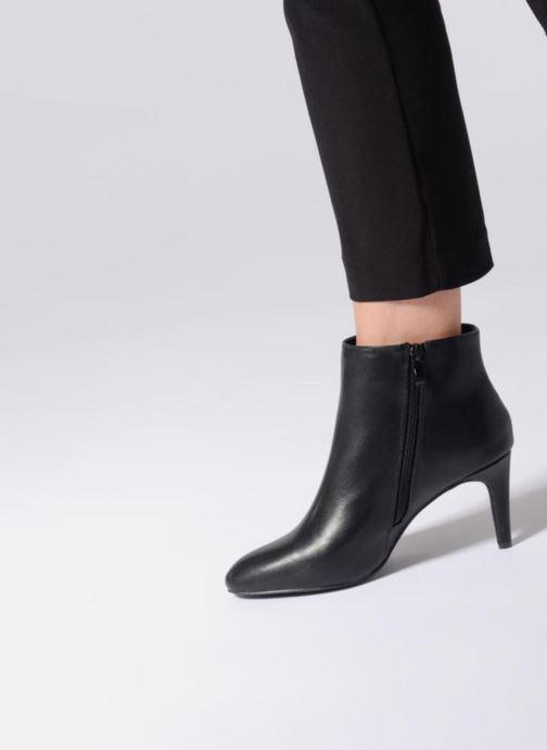 Bottines et boots I Love Shoes CAMINA Noir vue bas / vue portée sac
