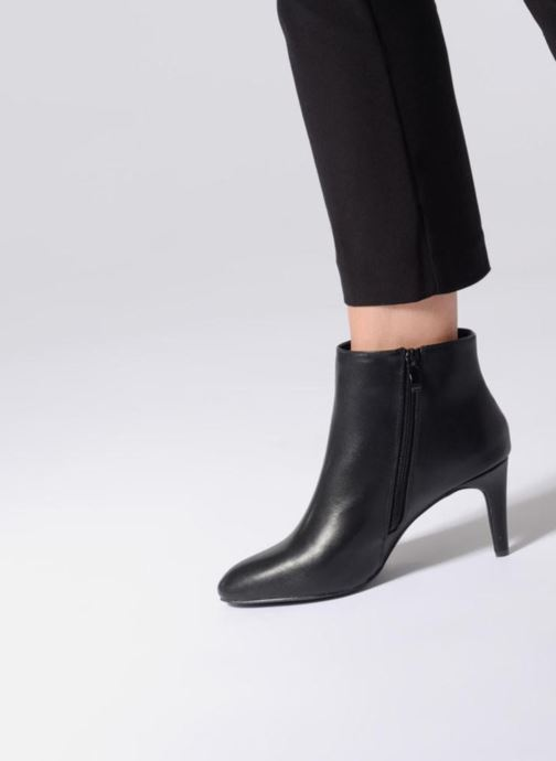 Ankle boots I Love Shoes CAMINA Black view from underneath / model view