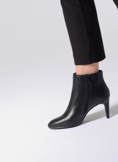Ankle boots I Love Shoes CAMINA Silver view from underneath / model view