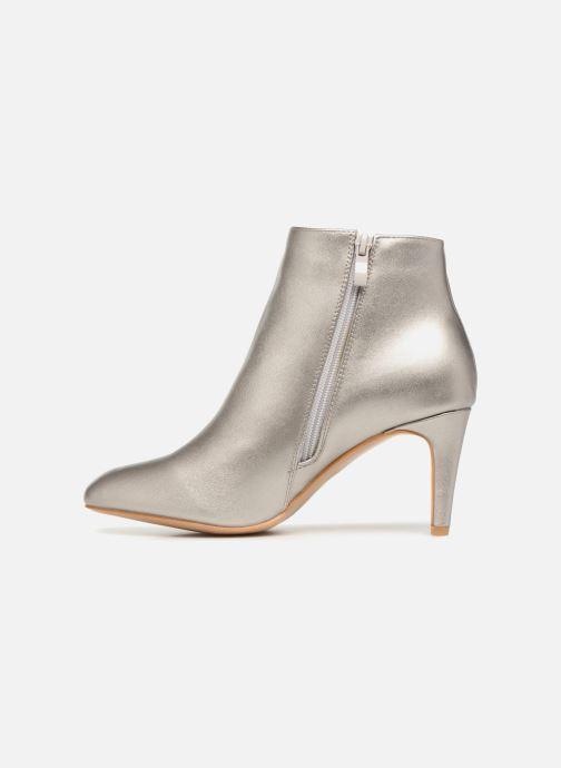 Boots en enkellaarsjes I Love Shoes CAMINA Zilver voorkant