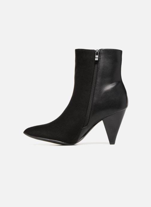 Ankle boots I Love Shoes CONICA Black front view