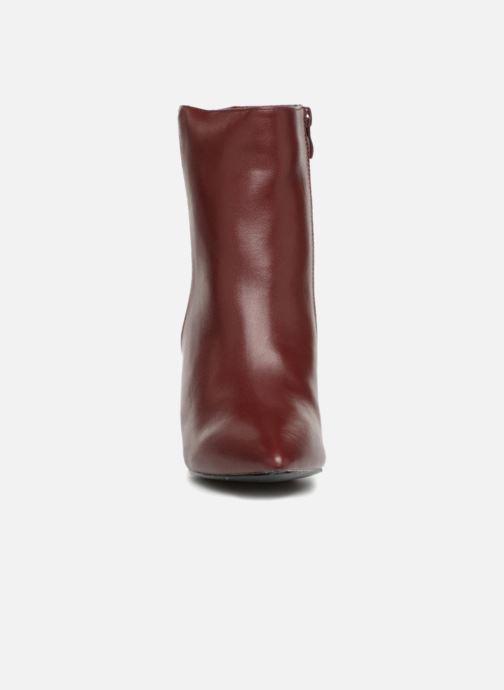 Bottines et boots I Love Shoes CONICA Bordeaux vue portées chaussures