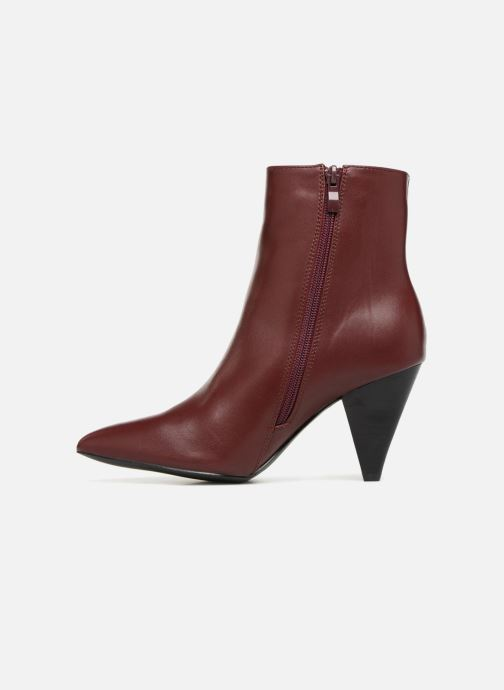 Botines  I Love Shoes CONICA Vino vista de frente