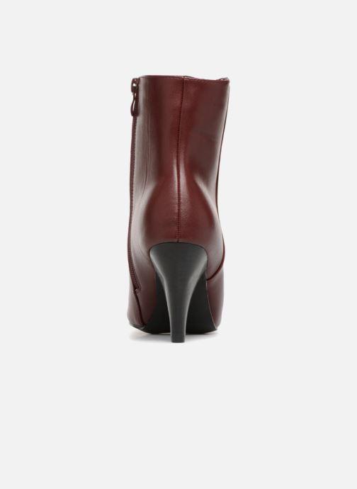 Botines  I Love Shoes CONICA Vino vista lateral derecha
