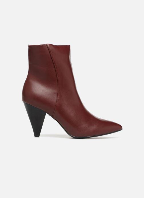 Botines  I Love Shoes CONICA Vino vistra trasera