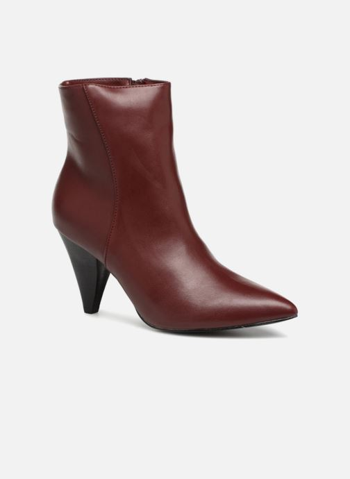 Botines  I Love Shoes CONICA Vino vista de detalle / par
