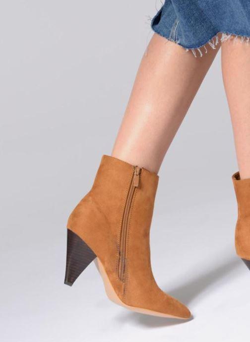 Bottines et boots I Love Shoes CONICA Marron vue bas / vue portée sac